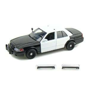 2007 Ford Crown Victoria Police Car Blank 1/24 Black