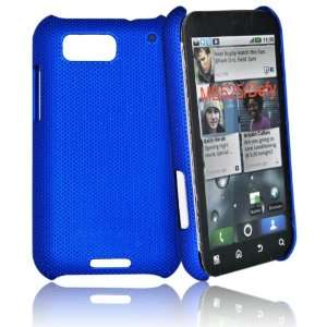 mobile palace  Blue Hybrid Skin Case Cover For motorola