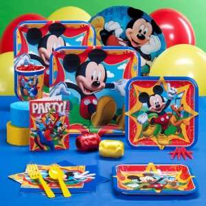 Lets Party By Hallmark Disney Mickey Fun and Friends Standard Party
