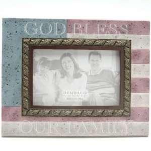 Heartstone God Bless Our Family Frame 4 x 6 77710
