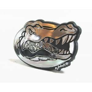 Florida Gators Silver Trailer Hitch Cover  Sports