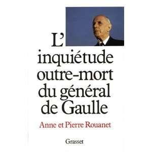 Linquietude outre mort du general de Gaulle (French