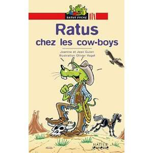 Bibliotheque De Ratus Ratus Chez Les Cow Boys (French