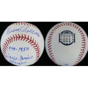 Pillette Autographed Yankee Stadium Final Season Ball Everything Else