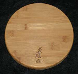Island Bamboo 8 Round Cutting Board