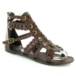 XTI XTI 23887 Womens Roman Gladiator Sandals   Marron Brown