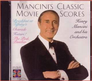 HENRY MANCINIS CLASSIC MOVIE SCORES ~CD RCA MADE JAPAN