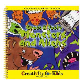 Creativity for Kids Monsters and Aliens Artivity Book