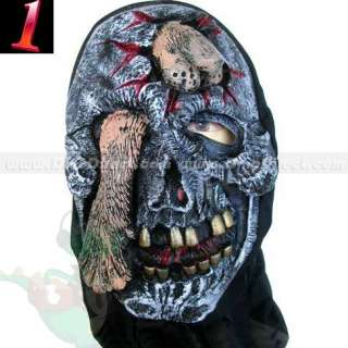 Wholesale Halloween Ghoulish Skeleton Scary Mask Costume Party Fancy