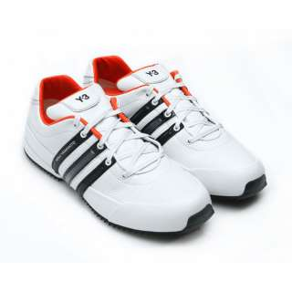 Footwear › Trainers › Y 3 Trainers, White Sprint Trainers