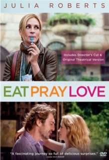 Eat Pray Love DVD *NEW* Julia Roberts, James Franco (043396362338