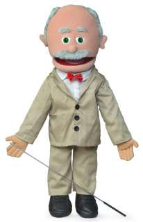 25 PRO PUPPETS / FULL BODY HISPANIC GRANDPA PUPPET