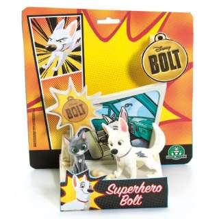 Disney Bolt   Mini Figure Collectables   Bolt & Mittens