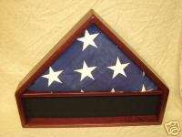 PURPLE HEART FLAG MEDALS DISPLAY CASE 5X9 VETERAN BOXs