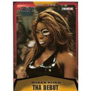TNA Diva Rhaka Khan 2008 TNA TriStar Cross the Line Wresting Trading