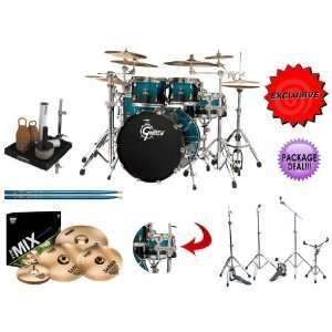 Gretsch 5 PIECE Groove Renown Maple RN F604 CSF Drum Kit