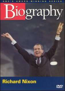 Biography Richard Nixon   Man and President DVD 733961727708 Front
