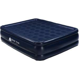 Ozark Trail Queen Air Bed, Foam Top, Elevated