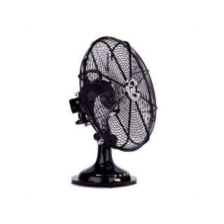 Ecco Black Table Fan Heating, Cooling, & Air Quality