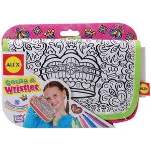 ALEX Toys   Color a Wristlet Kit, Queen