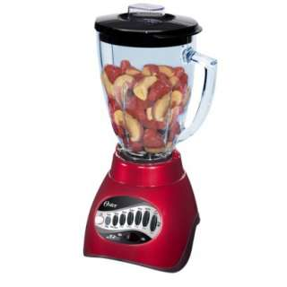 Oster 12 Speed Blender   Metallic Red.Opens in a new window