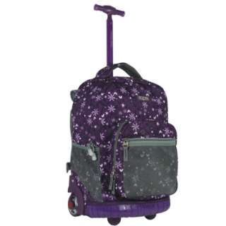 World Single Handle Rolling Backpack   Purple (18) product details