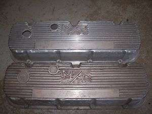 Vintage Mickey Thomson Valve Covers Big Block Chevy Hot Rod Rat Rod