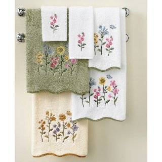 Avanti Premier Country Floral Bath Towel, Ivory
