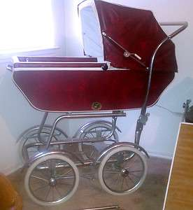 Vintage Baby Carriage / Buggy / Stroller by Wonda Chair Full Size