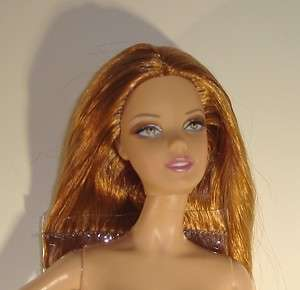 Custom Model Muse Barbie Basics Doll #7 collection 1 Red Hair