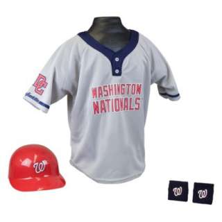 MLB Washington Nationals Kids Sports Uniform Set product details page
