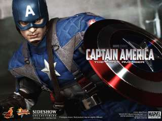 CAPTAIN AMERICA HOT TOYS 12 FIGURE SIDESHOW THE FIRST AVENGER