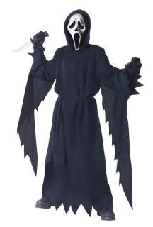 Child Scary Scream Ghost Face Halloween Costume 130862