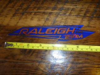 RALEIGH Bikes STICKER Decal Bicycles NEW Road MTB Sirlin