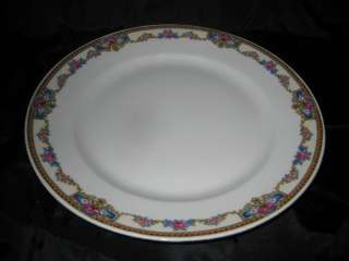 Victoria China Czechoslovakia flower pattern 201 10 Dinner Plate