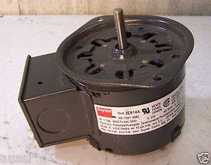 NEW DAYTON 1/125 HP 3030 RPM BLOWER FAN MOTOR 230 V