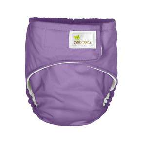OsoCozy All In One Cloth Diaper   Small Purple Bleached