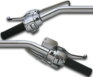 HANDLEBAR HAND CONTROL KIT CHROME SWITCHES HARLEY SPORTSTER 2004 2005