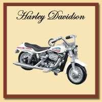 Hallmark Miniatures   Harley Davidson Ornaments