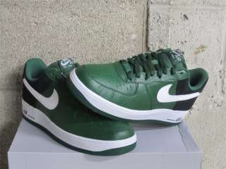 Air Force 1 One Low Gorge Green White Black DS Sz 11.5 new 488298 301