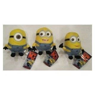 Despicable Me The Movie Minions 6 Inch Plush Doll Toy Set Dave Jorge
