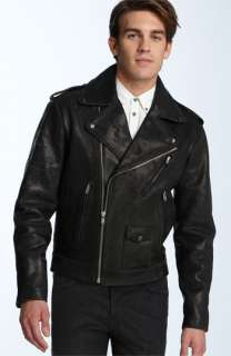 MARC BY MARC JACOBS Leather Motorcycle Jacket