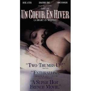 Un Co En Hiver [VHS] Daniel Auteuil, Emmanuelle Béart