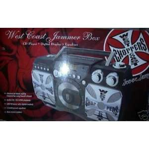West Coast Choppers Jesse James Jammer Box CD Player