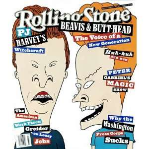 Stone Cover Poster by Mike Judge (9.00 x 11.00)