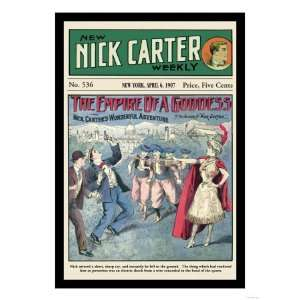 Nick Carter The Empire of a Goddess Giclee Poster Print, 24x32