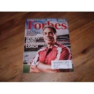Coach Nick Saban September 1, 2008 Coach Nick Saban Forbes Books