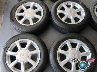 08 09 Cadillac CTS STS Factory 17 Wheels Tires OEM Rims 4623 5x120