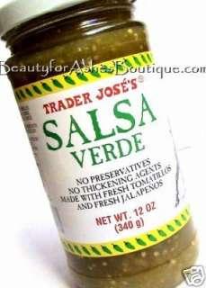 TRADER JOES SALSA VERDE GREEN TOMATILLO SAUCE   12 OZ