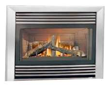 GD34NT 34 Zero Clearance Direct Vent Natural Gas Fireplace